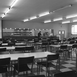 View of the Canteen at the Park Gate Iron and Steel Co, Rotherham, 1964 Photographic Print by Michael Walters