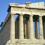 View of the North-West Corner of the Parthenon, 5th Century Bc Photographic Print by CM Dixon