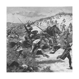 Charge of the Scots at the Battle of Homildon Hill, Northumberland, 1402 Giclee Print