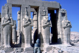 Colossal Statues of Rameses Ii, the Ramesseum, Temple of Rameses Ii, Luxor, Egypt, C1300 Bc Photographic Print by CM Dixon
