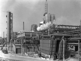 Manvers Coal Preparation Plant, Near Rotherham, South Yorkshire, 1956 Fotografie-Druck von Michael Walters