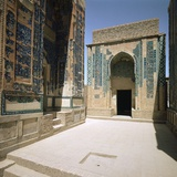 Tomb in the Shah-I Zindeh Mausoleum Complex, 14th Century Photographic Print by CM Dixon