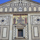 The West Facade of San Miniato Al Monte, 12th Century Photographic Print by CM Dixon