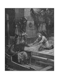 Murder of Prince Arthur, 1203 Giclee Print