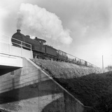 Steam Loco No 65794 Hauling Coal from Lynemouth Colliery, Northumberland, 1963 Photographic Print by Michael Walters