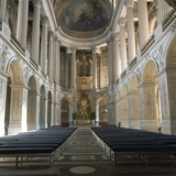 Chapel Interior of Versailles, 16th Century Photographic Print by CM Dixon