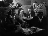 Miners Socialising at the Miners Welfare Club, Horden Colliery, Sunderland, Tyne and Wear, 1964 Photographic Print by Michael Walters