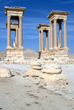 The Tetrapylon, Palmyra, Syria Photographic Print by Vivienne Sharp