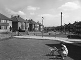 Urban Regeneration, Cresswell Estate, Swinton, South Yorkshire, 1963 Photographic Print by Michael Walters