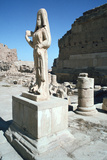 Statue of a Parthian Princess, Hatra (Al-Hadr), Iraq, 1977 Photographic Print by Vivienne Sharp