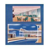 The Tourist Lounge and Swimming Bath of the Rms Orion, 1935 Giclee Print