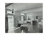A Ward at Orchard House, Claybury Hospital, Woodford Bridge, London, 1937 Photographic Print