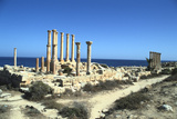 Temple of Isis, Sabratha, Libya Photographic Print by Vivienne Sharp