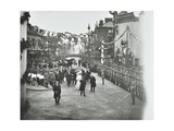 Official Opening of the Rotherhithe Tunnel, Bermondsey, London, 1908 Papier Photo