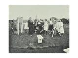 Children Taking Meteorological Observations, Shrewsbury House Open Air School, London, 1908 Photographic Print