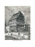 Albert Durers House, Nuremberg, Germany, 1893 Giclee Print