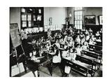 Nature Lesson, Class Iiib, Albion Street Girls School, Rotherhithe, London, 1908 Photographic Print