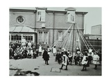 Children Performing a Maypole Drill, Southfields Infants School, Wandsworth, London, 1906 Photographic Print