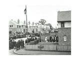 Opening Ceremony on Ruislip Street, Totterdown Estate, Wandsworth, London, 1903 Photographic Print