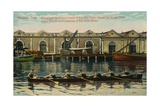 Sugar Warehouse Canoeing, San Juan River, Matanzas, Cuba, C1920S Giclee Print