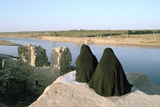 Two Iraqi Women at Bash Tapia Castle, Mosul, Iraq, 1977 Photographic Print by Vivienne Sharp
