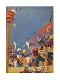 The Fight with the Corsairs, 1937 Giclee Print by Sydney George Hulme Beaman