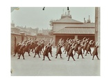 Exercise Class, Buckingham Street Girls School, Islington, London, 1906 Photographic Print