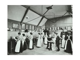 Art Class for Female Students, Battersea Polytechnic, London, 1907 Photographic Print