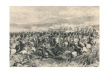 Balaclava, 25th October 1854. the Charge of the Scots Greys, 1884 Giclee Print