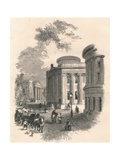 Old Town Hall and Commercial Buildings, Leeds, C19th Century Giclee Print
