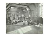 Recitation of the Sick Dolly, Flint Street School, Southwark, London, 1908 Photographic Print