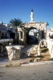 Arch of Marcus Aurelius, Tripoli, Libya, 163 Ad Fotografisk tryk af Vivienne Sharp