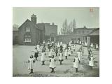 Girls Skipping, Rushmore Road Girls School, Hackney, 1908 Photographic Print