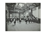 Girls in the Gymnasium, Fulham County Secondary School, London, 1908 Photographic Print