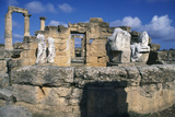 Tomb of Battus, Agora, Cyrene, Libya, C600 Bc Photographic Print by Vivienne Sharp