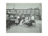 History Lesson in the Horniman Museum, London, 1908 Photographic Print