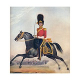 Officer of the 2nd (R. N. Brit.) Dragoons, C1833. (1914) Giclee Print