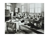 Cookery Class, Gopsall Street School, Shoreditch, London, 1908 Photographic Print