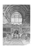 Coronation of George IV in Westminster Hall, 1897 Giclee Print