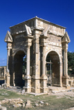 Severan Arch, Leptis Magna, Libya, C203 Ad Photographic Print by Vivienne Sharp