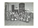 Womens Brass Band, Cosway Street Evening Institute for Women, London, 1914 Photographic Print