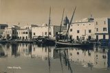 The Old Port of Bizerta, Tunisia, 1936 Stampa fotografica