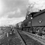 Steam Loco No 65811 Hauling Coal from Lynemouth Colliery, Northumberland, 1963 Photographic Print by Michael Walters