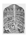 The Panopticon, 1854 Giclee Print
