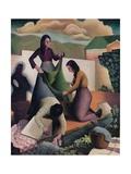 Wayside Laundry, 1935, (1937) Giclee Print by Tom Chadwick