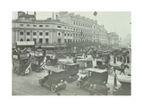 Traffic at Oxford Circus, London, 1910 Photographic Print