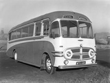 Pickerills Commer Coach, Darfield, Near Barnsley, South Yorkshire, 1957 Photographic Print by Michael Walters