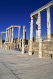 Theatre, Leptis Magna, Libya, 1-2 Ad Photographic Print by Vivienne Sharp