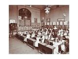 Numeracy Lesson Using Sticks, Hugh Myddelton School, Finsbury, London, 1906 Photographic Print