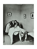 Housewifery, Barnsbury Park School, Islington, London, 1908 Photographic Print